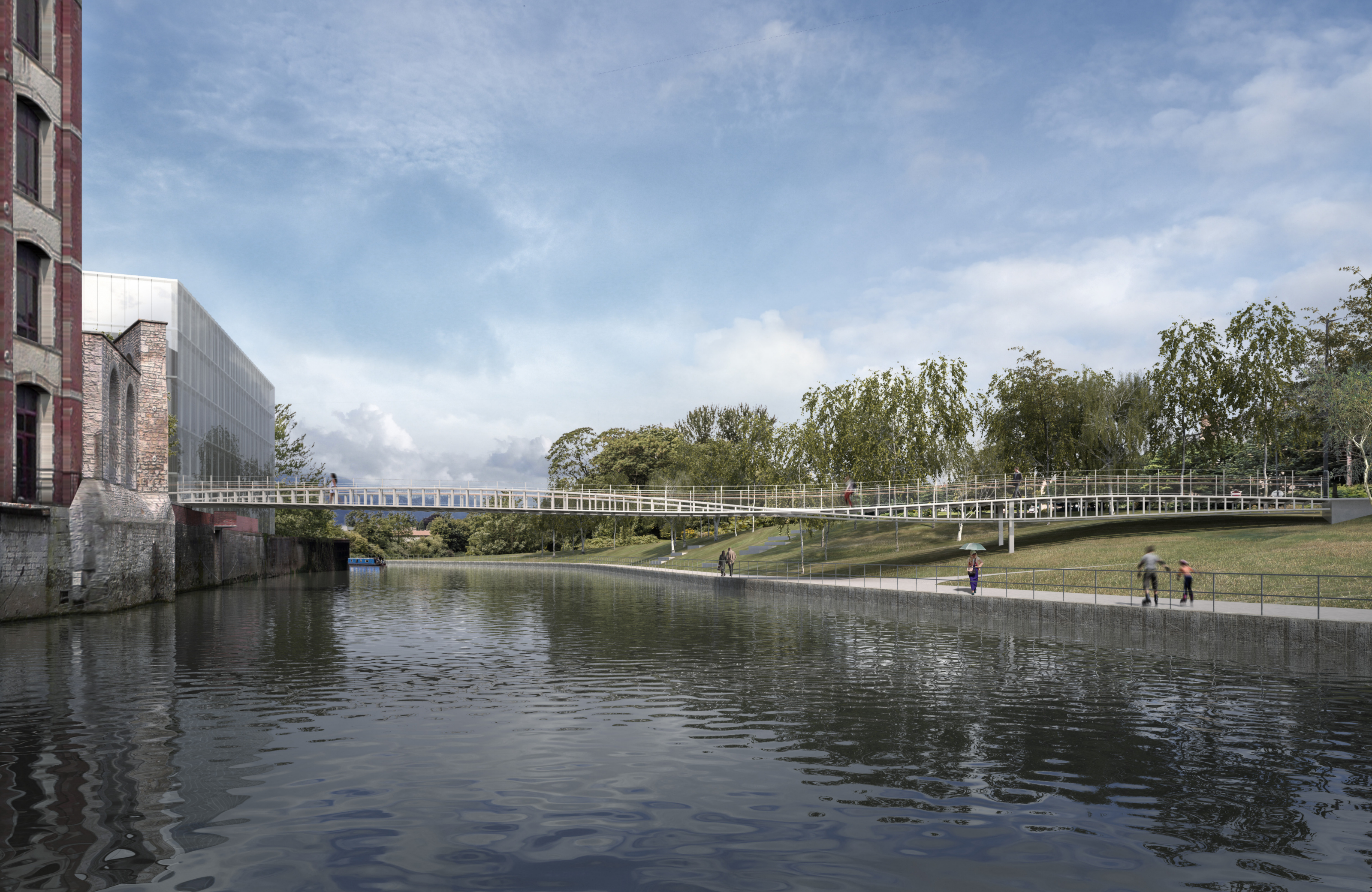 Winning design for Bath Quays Bridge revealed