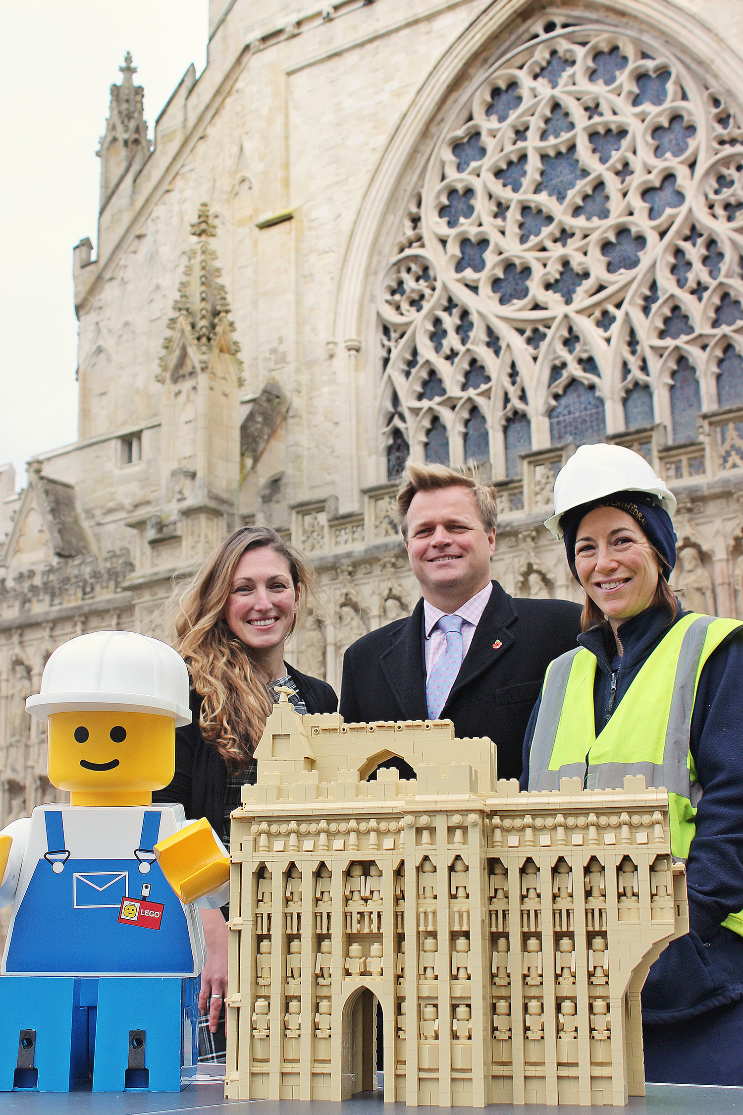 Exeter Cathedral to be rebuilt (in LEGO®)