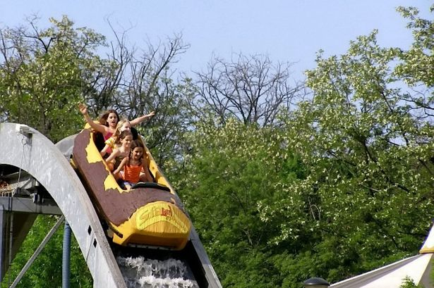 LOG FLUME AUCTION CANCELLED RUINING SUMMER FOR THE WEALTHY