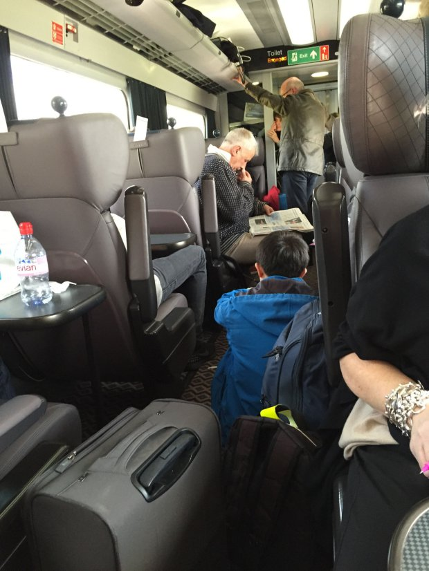 POLICE HELP EVACUATE 150 FROM DANGEROUSLY OVERCROWDED TRAIN