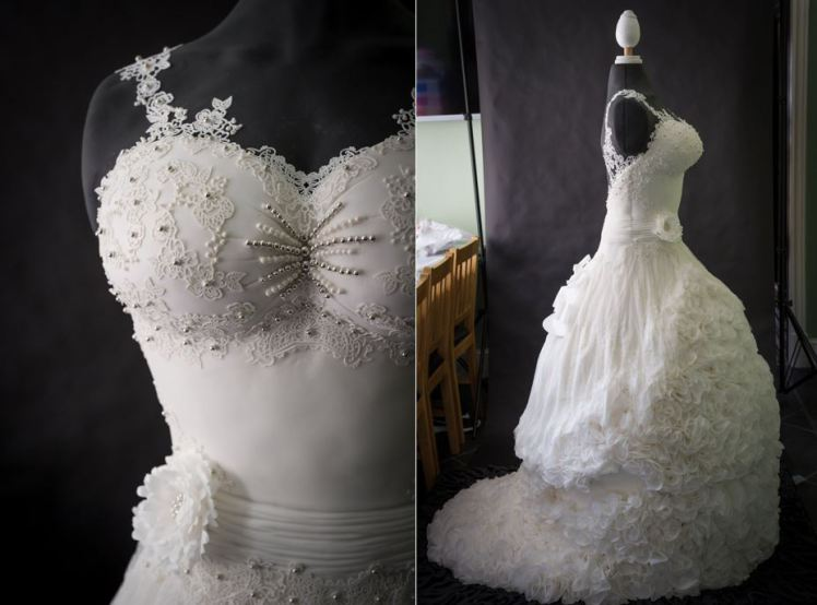 CAKE MAKER CREATES THE WORLDS FIRST WEDDIBLE DRESS
