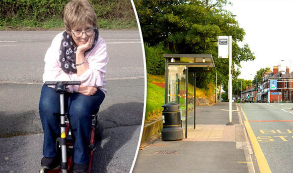 DISABLED WOMAN BOOTED OFF BUS FOR NOT HAVING SCOOTER PASS