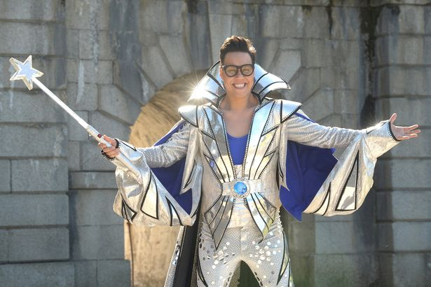 TV STAR GOK WAN IN GLASGOW FOR NEW TV SHOW