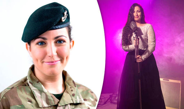 WOMAN DUBBED NEW FORCES' SWEETHEART AFTER BEING RECRUITED FOR VOICE