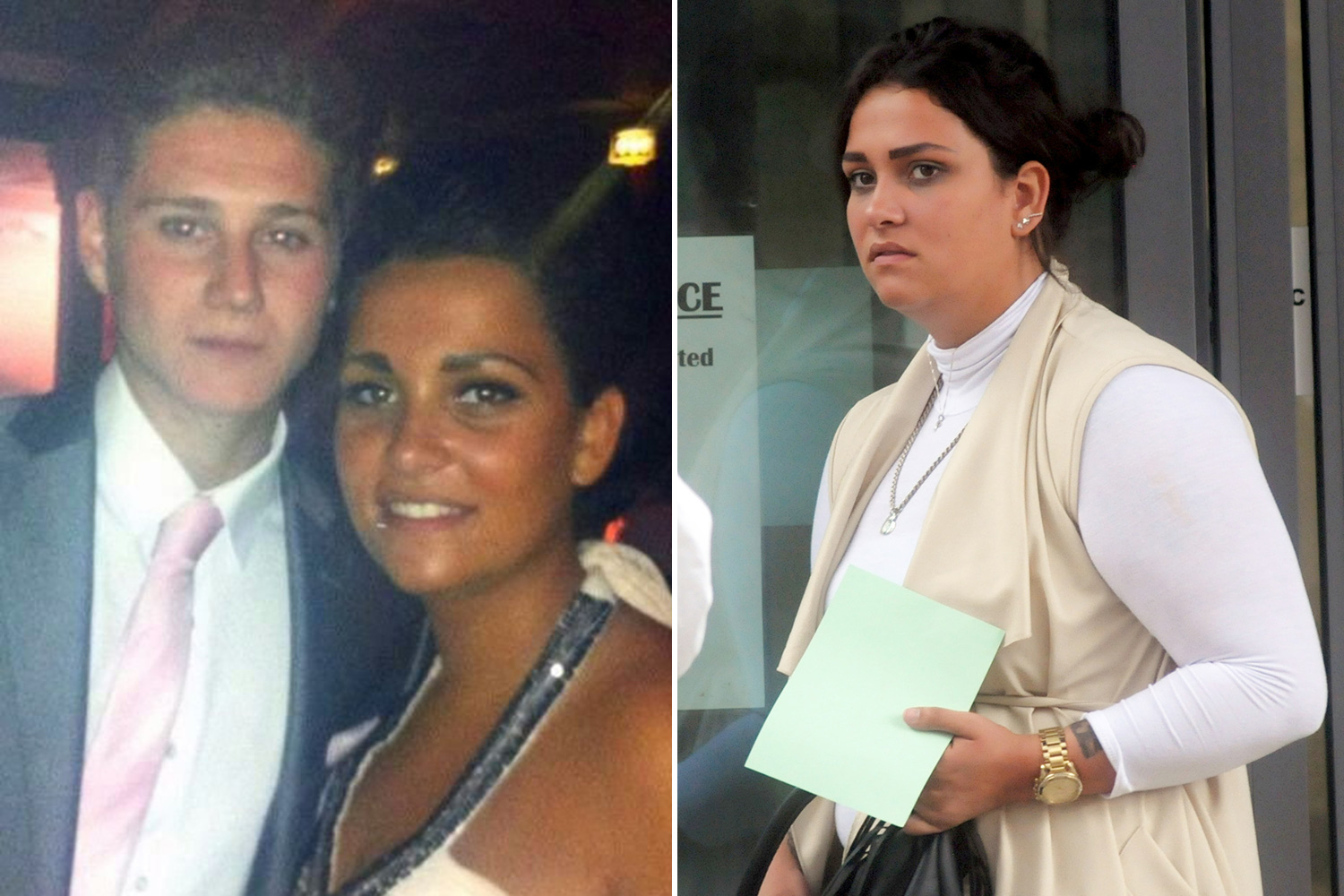 YOUNG MUM KILLED FIANCE AND FATHER OF HER CHILD IN HORROR CRASH