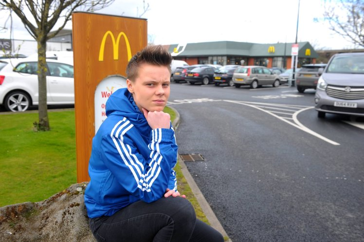 GIRL ASKED TO LEAVE MCDONALDS BECAUSE STAFF THOUGHT SHE WAS A BOY