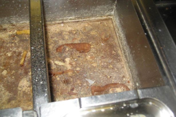 SHOCKING PICTURES SHOW APPALLING STATE OF DISGUSTING KEBAB VAN