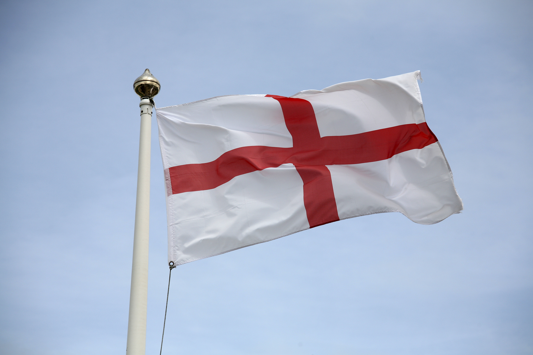 COUNCIL TAKE DOWN GEORGE CROSS FLAGS IN POLLING STATION