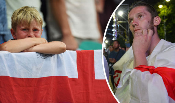 ICELAND FANS GO WILD IN LONDON AS THEY CONDEMN AWFUL ENGLAND TO 'BREXIT II'