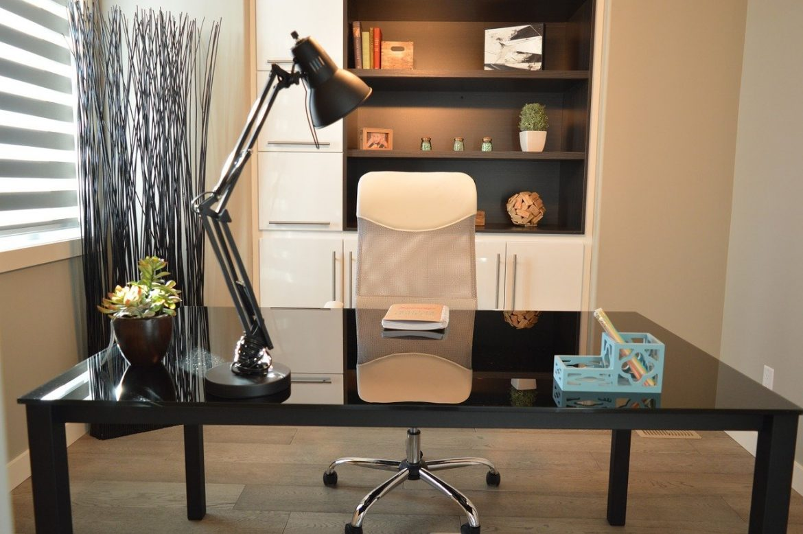 Tips for a professional-looking home office setup