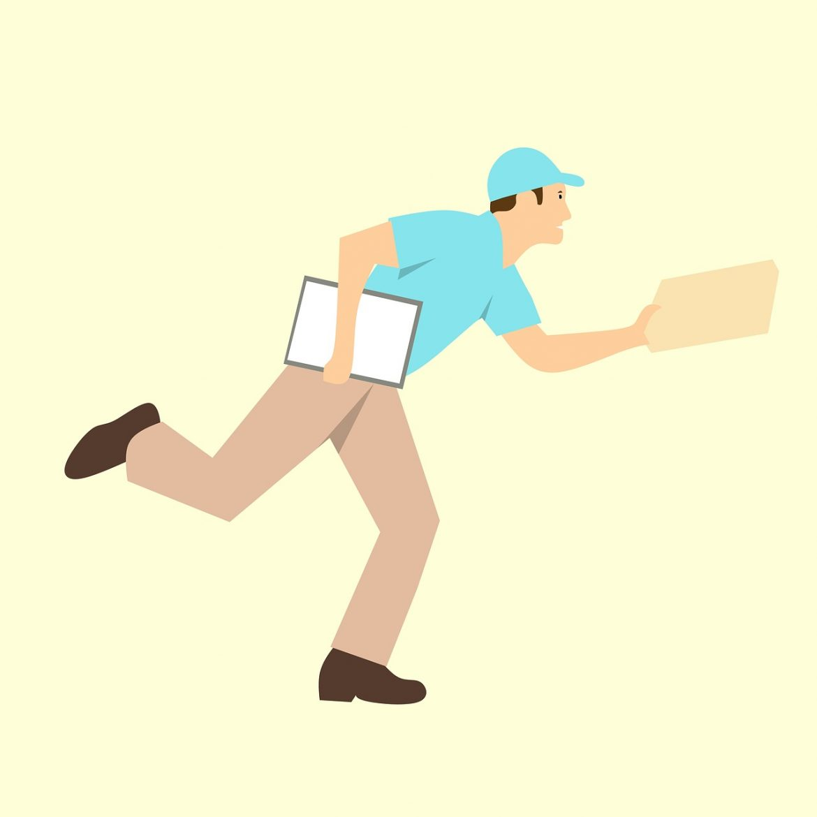 What is a parcel delivery company and how does it work?